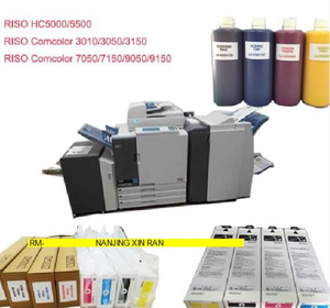 Compatible S-6308 S-6309 S-6310 S-6311 Ink Cartridges for Use in Risos Comcolors 7050 9050 Ink Cartridges