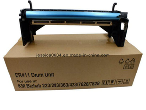 Copier Drum Unit Compatible (DR-411) Dr411 Imaging Unit for Minolta Bizhub 223 283 363 463 284 Drum Unit