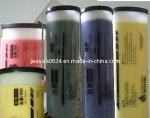 Color Ink (GOLD, SILVER, RED, BLUE, YELLOW, GREEN) for Riso Duplicator