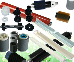 Upper Fuser Roller, Lower Pressure Roller, Thermistor, Pick up Roller, Drum Cleaning Blade, Fuser Gear for Konica Copiers